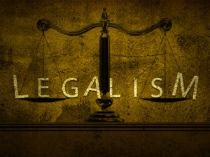 Legalism is Another Religion3